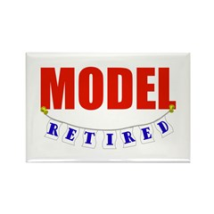 Retired Model Rectangle Magnet (100 pack)