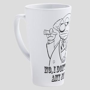 No, I don't know any jokes 17 oz Latte Mug