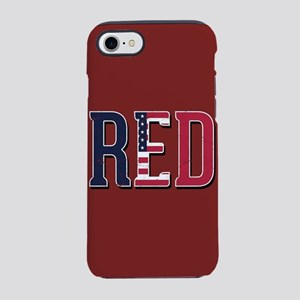 Red Friday American Flag iPhone 8/7 Tough Case
