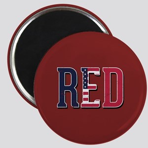 Red Friday American Flag Magnet