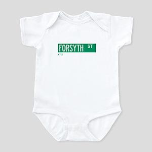 Forsyth Street in NY Infant Bodysuit
