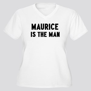 Maurice is the man Women's Plus Size V-Neck T-Shir
