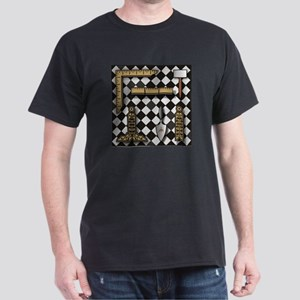 Working Tools on Mosaic Pavement Dark T-Shirt