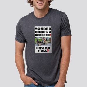YONDER COMES A REDNECK - HOW DO Y'ALL? T-Shirt