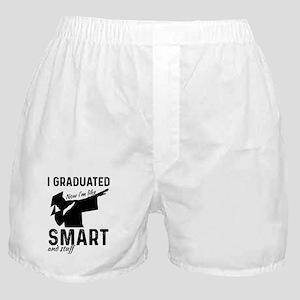 Graduation Class Of 2018 Graduate Dab Boxer Shorts