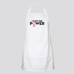I Have The Power Light Apron