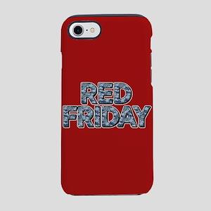 Red Friday Camo iPhone 8/7 Tough Case