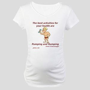Healthy Activities Maternity T-Shirt