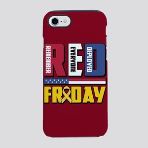 RED Friday Remember Everyone iPhone 8/7 Tough Case