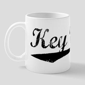 Vintage Key West (Black) Mug