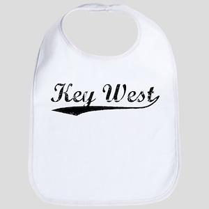 Vintage Key West (Black) Bib