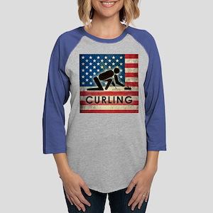 Grunge USA Curling Long Sleeve T-Shirt