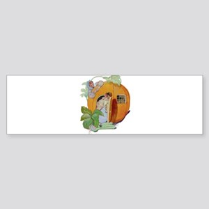 PETER PETER PUMPKIN EATER Sticker (Bumper)