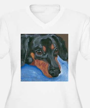Waiting Dachshund T-Shirt