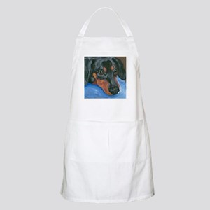 Waiting Dachshund BBQ Apron
