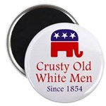 Crusty Old White Men Magnet