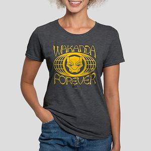 Black Panther Wakanda Womens Tri-blend T-Shirt