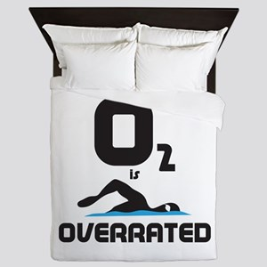 Swimming Queen Duvet