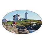Nubble Oval Sticker