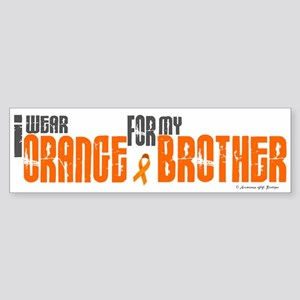 I Wear Orange For My Brother 6 Bumper Sticker