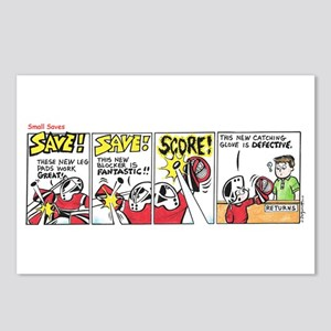 Small Saves And His New Postcards (package Of 8)