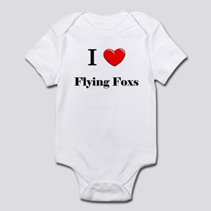 I Love Flying Foxs Infant Bodysuit