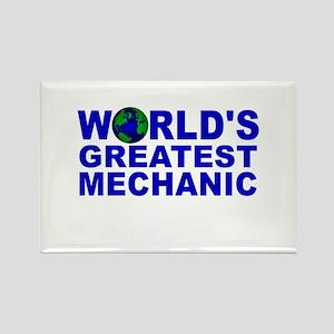 World's Greatest Mechanic Rectangle Magnet