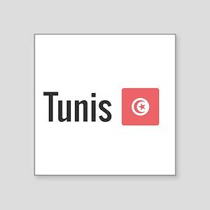 Tunis Sticker