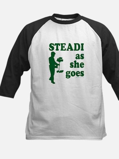 Steadi as she Goes! Kids Baseball Jersey