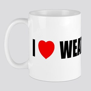 I Love Weather Mug