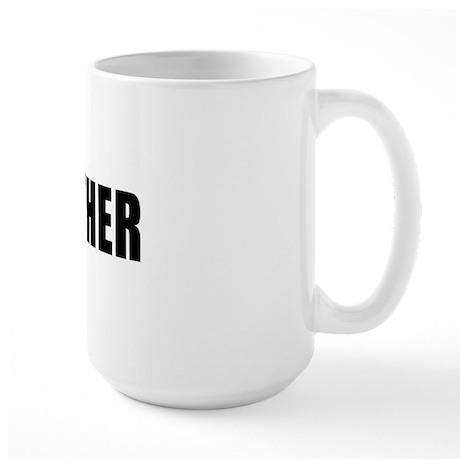I Love Weather Large Mug