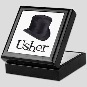 Top Hat Usher Keepsake Box