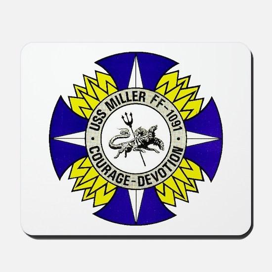 USS MILLER Mousepad