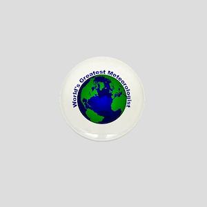 World's Greatest Meteorologis Mini Button