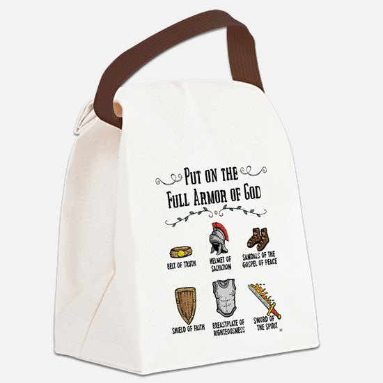 Armor of God Canvas Lunch Bag
