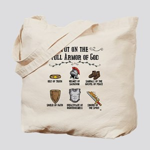Armor of God Tote Bag