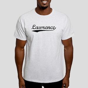 Vintage Lawrence (Black) Light T-Shirt