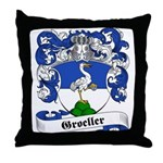 Groeller Family Crest Throw Pillow