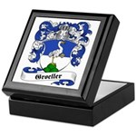 Groeller Family Crest Keepsake Box