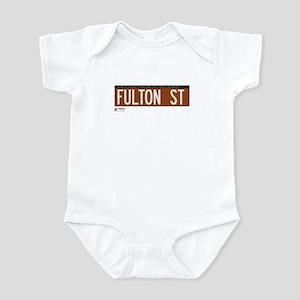 Fulton Street in NY Infant Bodysuit