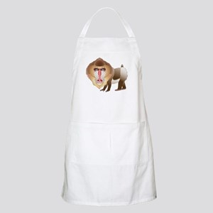 Baboon BBQ Apron