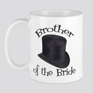 Top Hat Bride's Brother Mug
