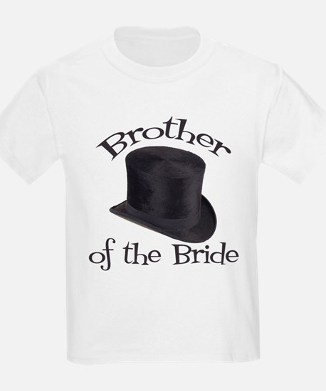Top Hat Bride's Brother T-Shirt