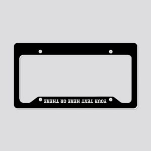 Add Your Text License Plate Holder