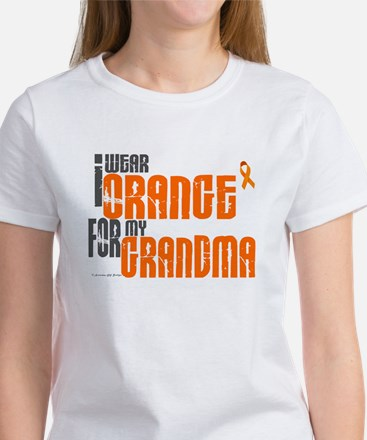 I Wear Orange For My Grandma 6 Women's T-Shirt
