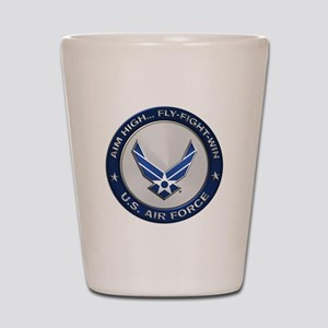USAF Motto Aim High Shot Glass