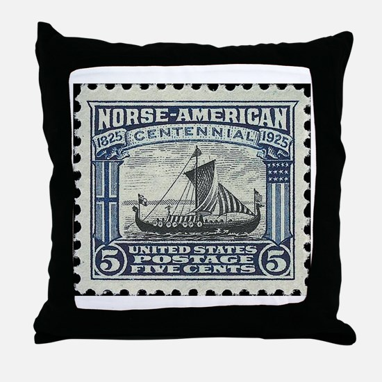 Cute Norway Throw Pillow