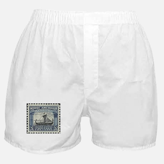 Cute Viking Boxer Shorts