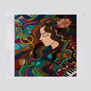Musical Interlude Throw Blanket