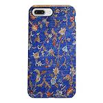 Blue Floral Oriental Carpet iPhone 8/7 Plus Tough